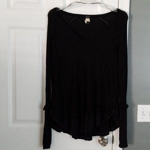 FP Black tunic top